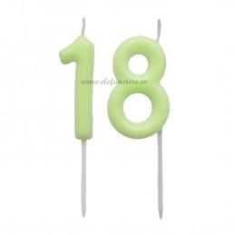 Set 2 lumanari fosforescente 18 Majorat