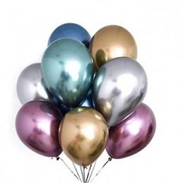 Set 10 Baloane Chrome Mov Oglinda 30 cm