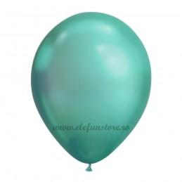 Set 10 Baloane Chrome Verde Oglinda 30 cm