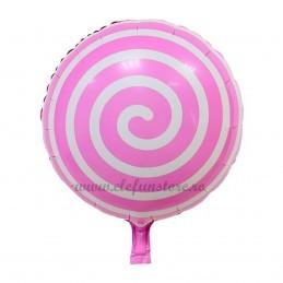 Balon Acadea Spirala Roz