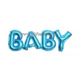 Balon Scris BABY Albastru