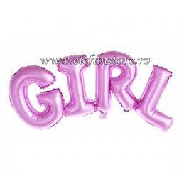 Balon Scris BABY Roz