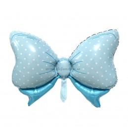 Balon Fundita Bleu cu bulinute