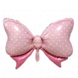 Balon Fundita Roz cu bulinute