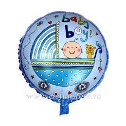 "Balon ""A New Little Prince "" bleu"
