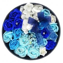 Set 50 Trandafiri de Sapun Bleu