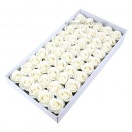 Set 50 Trandafiri de Sapun Albi