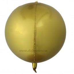 Balon Sfera 3D 60cm Auriu Satin