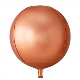 Balon Sfera 3D 25cm Rose Gold Satin