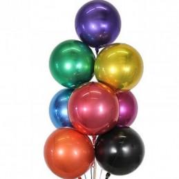 Balon Sfera 3D 60cm Negru