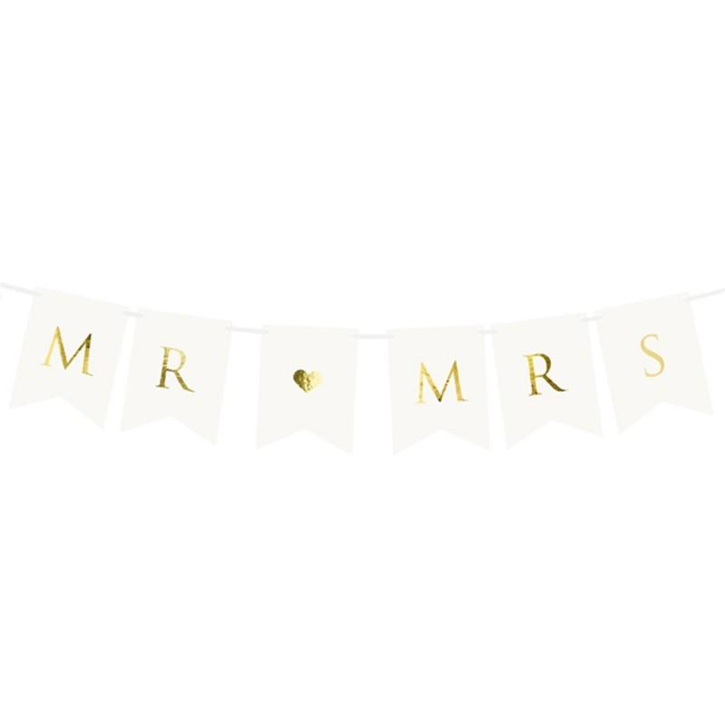 Banner MR & MRS White