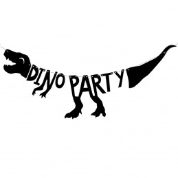 Banner Dino Party
