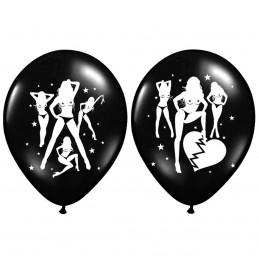 Set 5 baloane negre Sexy