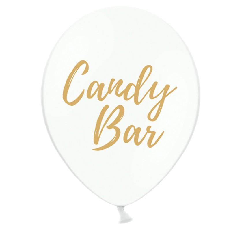 Set 5 baloane Candy Bar