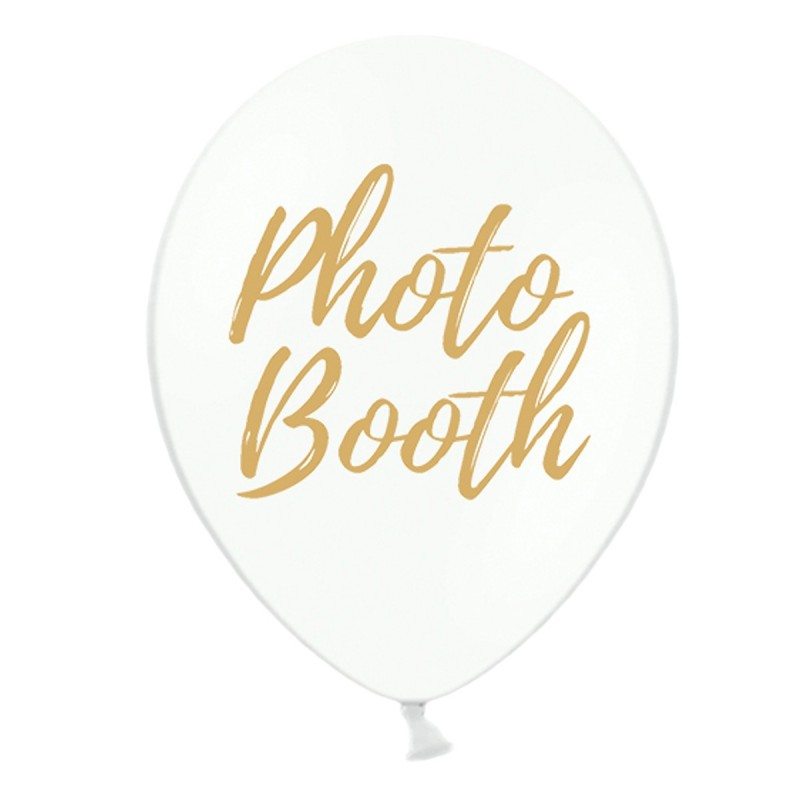 Set 5 baloane Photo Booth