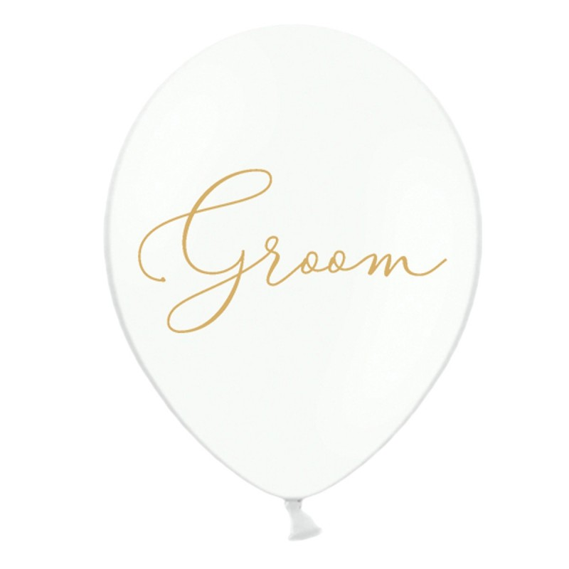 Set 5 baloane Groom