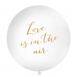 Balon Jumbo Love is in the air Auriu 1m