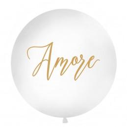 Balon Jumbo Amore Auriu 1m