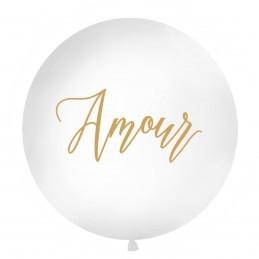Balon Jumbo Amour Auriu 1m