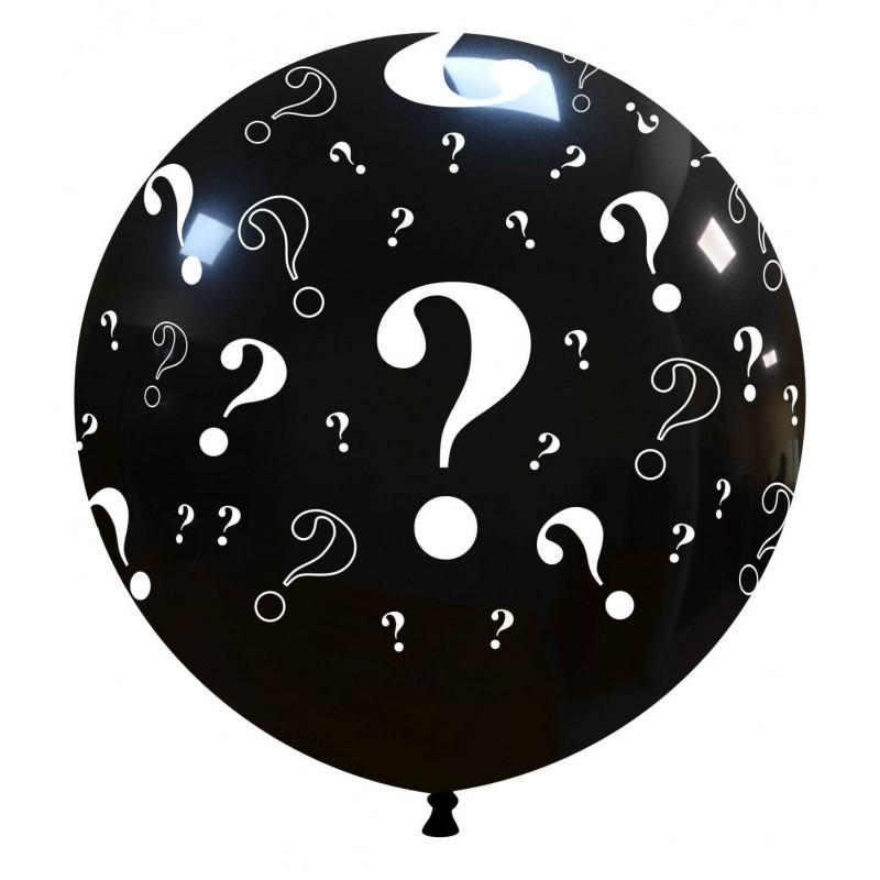 Balon Jumbo Semnul Intrebarii - Girl or Boy ?