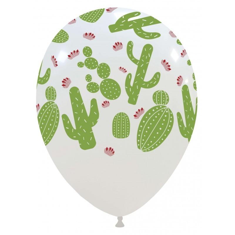 Set 10 baloane Cactus