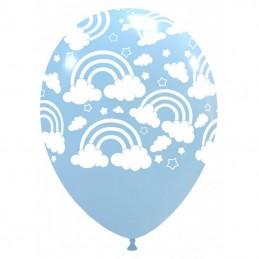 Set 10 baloane Pastel Curcubeu