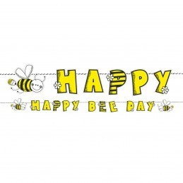 Banner Happy Bee Day Albinuta