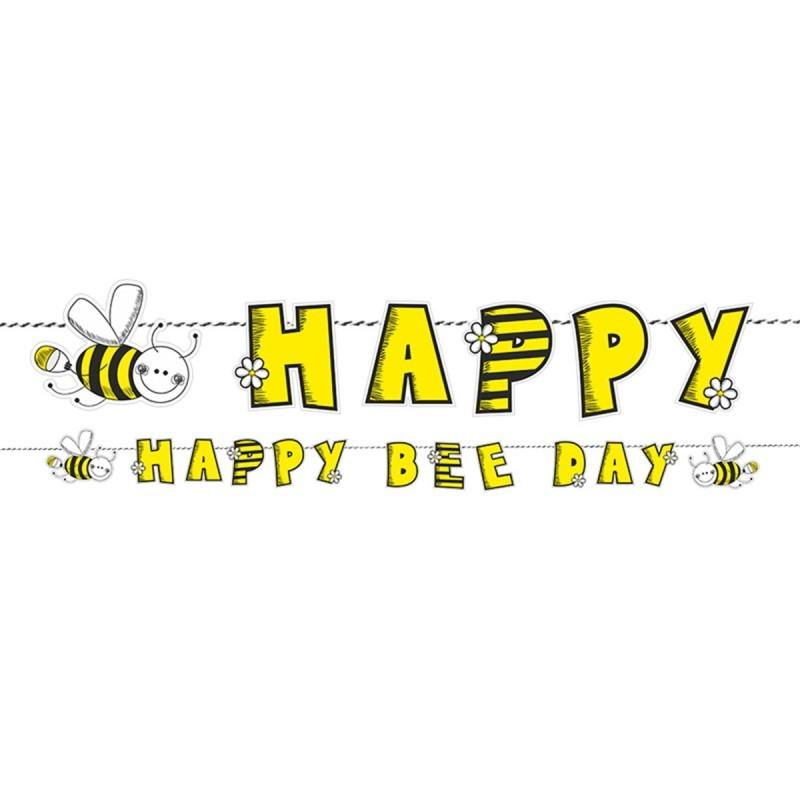 Banner Happy Bee Day Albinuta