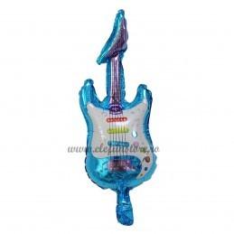 Balon Mini Chitara Albastra