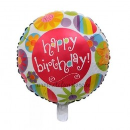 Balon Happy Birthday Summer