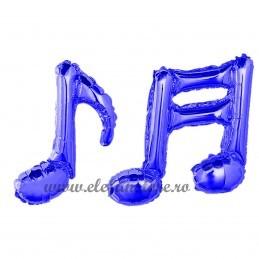 Balon Nota Muzicala Dubla Albastra