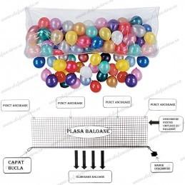 Plasa pentru 200 Baloane cu aer Release Net
