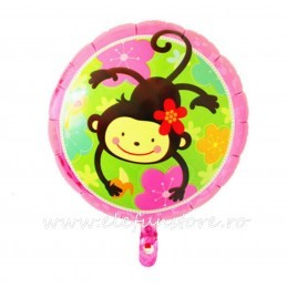 Mini Balon Rotund Minnie Mouse