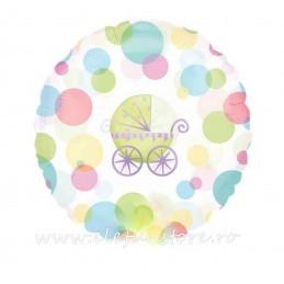 Balon Botez Carucior de copii