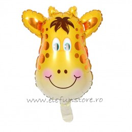 Balon Mini Figurina Girafa 40cm