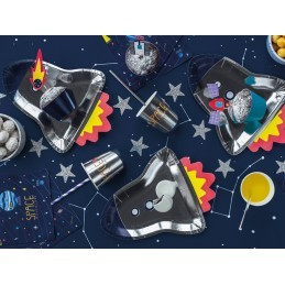 Set 6 pahare Space Party 180ml