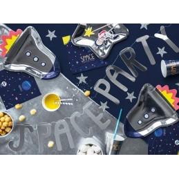 Set 6 farfurii Racheta Space Party 29.5 cm