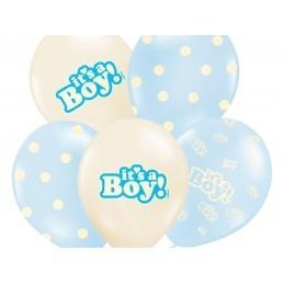Set 5 baloane asortate It's a Boy