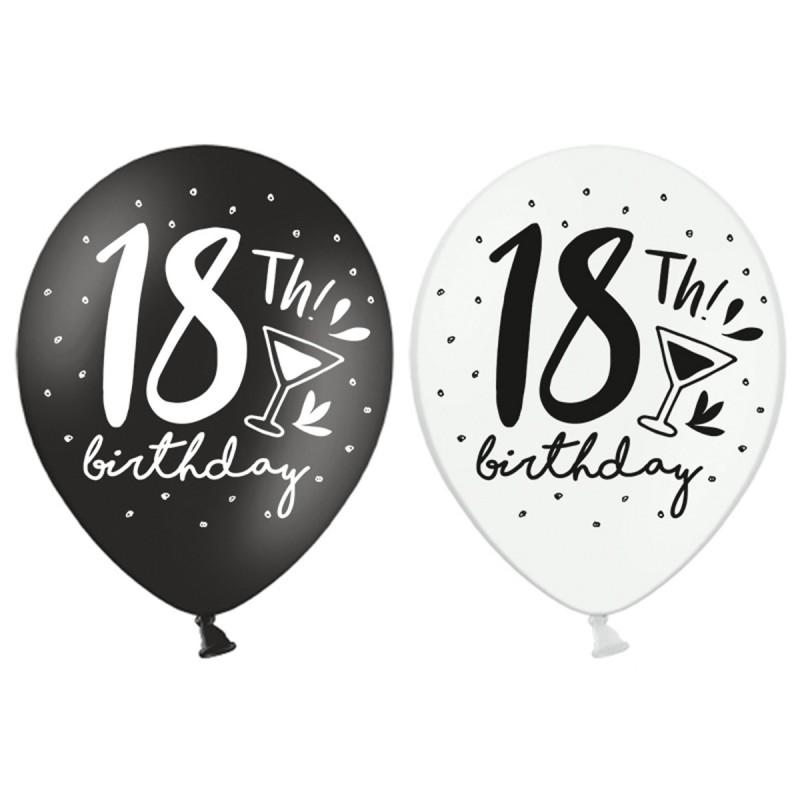 Set 5 baloane Majorat 18 Birthday
