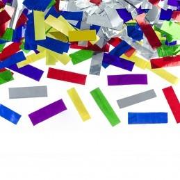 Tun confetti lamele multicolore 40 cm