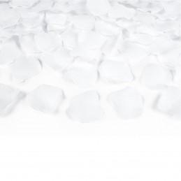 Tun confetti petale trandafir albe 40 cm
