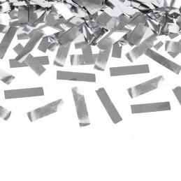 Tun confetti lamele argintii 40 cm