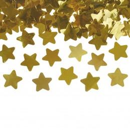 Tun confetti stelute aurii 40 cm