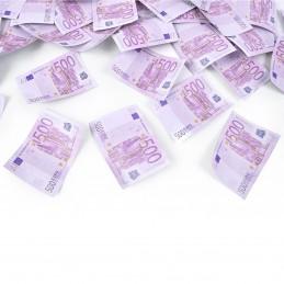 Tun confetti bancnote 500 euro 60 cm