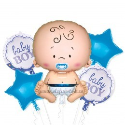 Kit 5 Baloane It's a Boy