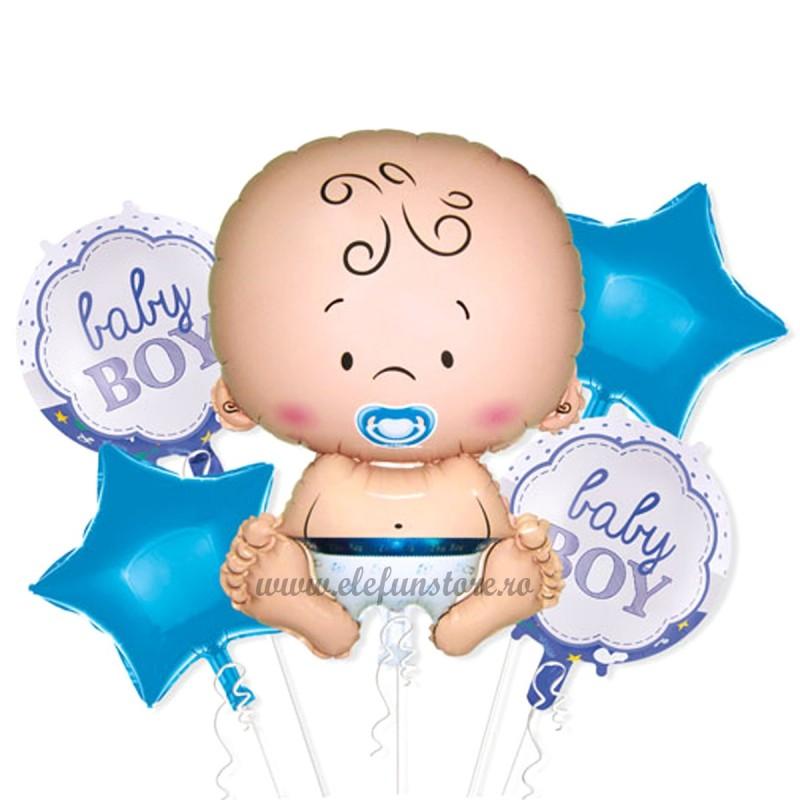 Kit 5 Baloane It's a Boy