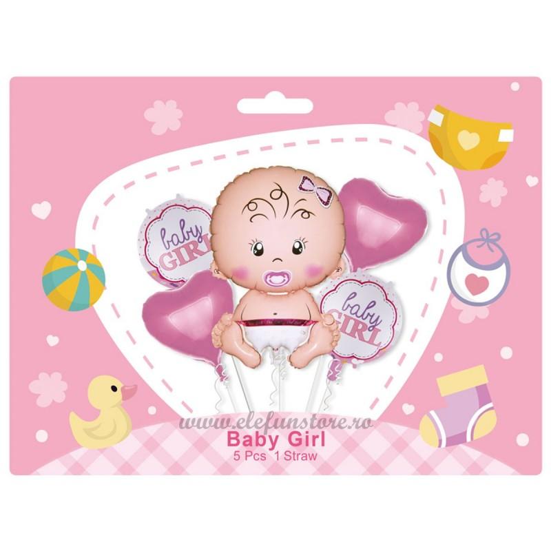 Kit 5 Baloane It's a Girl