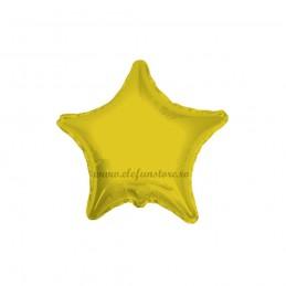 Set 10 Baloane Stea Aurie 12 cm