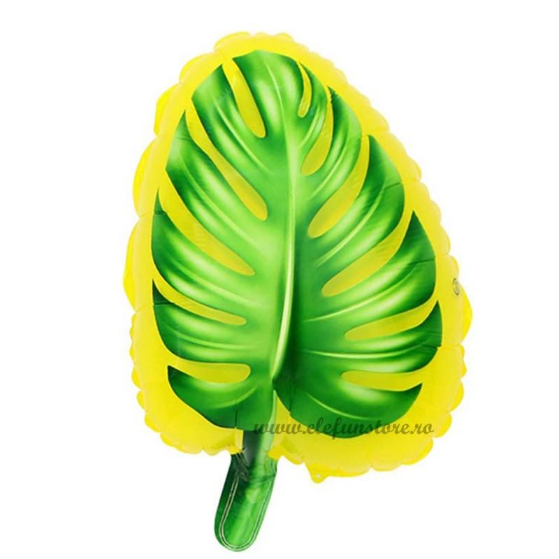 Balon Frunza Palmier 50 cm Galbena