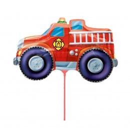 Balon Mini Masina Pompieri cu bat